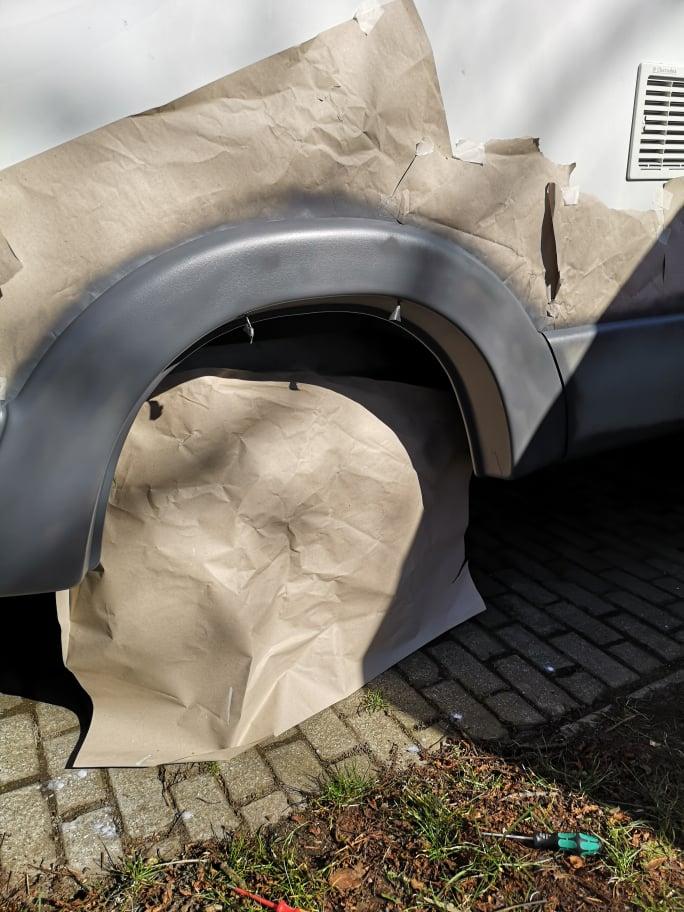 Wohnmobil Stoßfänger selbst lackieren, Aus alt, mach neu: Stoßfänger beim Wohnmobil selbst lackieren