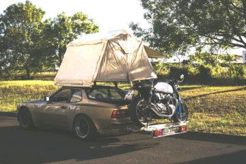 , Porsche 944 mit Dachzelt: Eigentlich sollte es ein Offroader werden