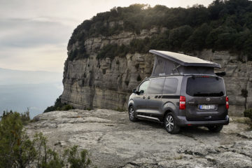 Toyota Proace Camper, CROSSCAMP:  Alternative zu VW California auf Basis Toyota Proace