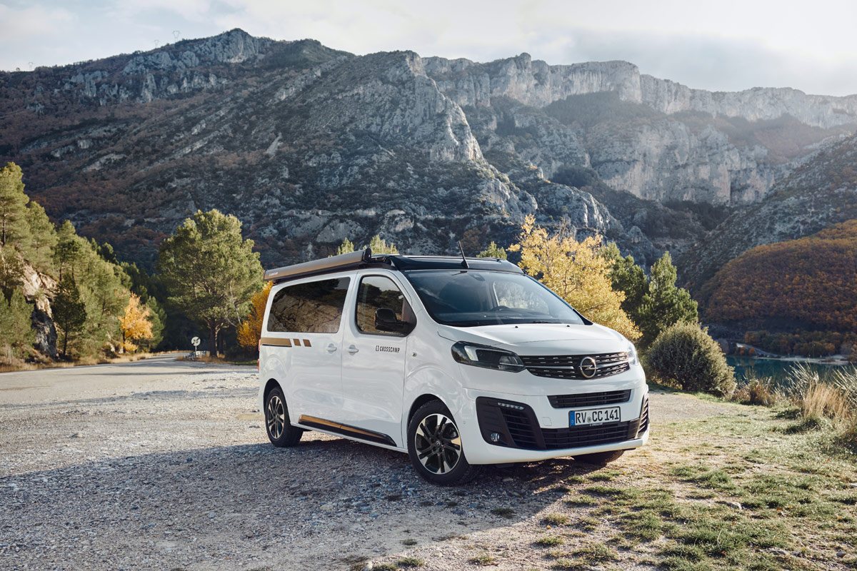 , CROSSCAMP Life: Opel-Camper als California-Alternative