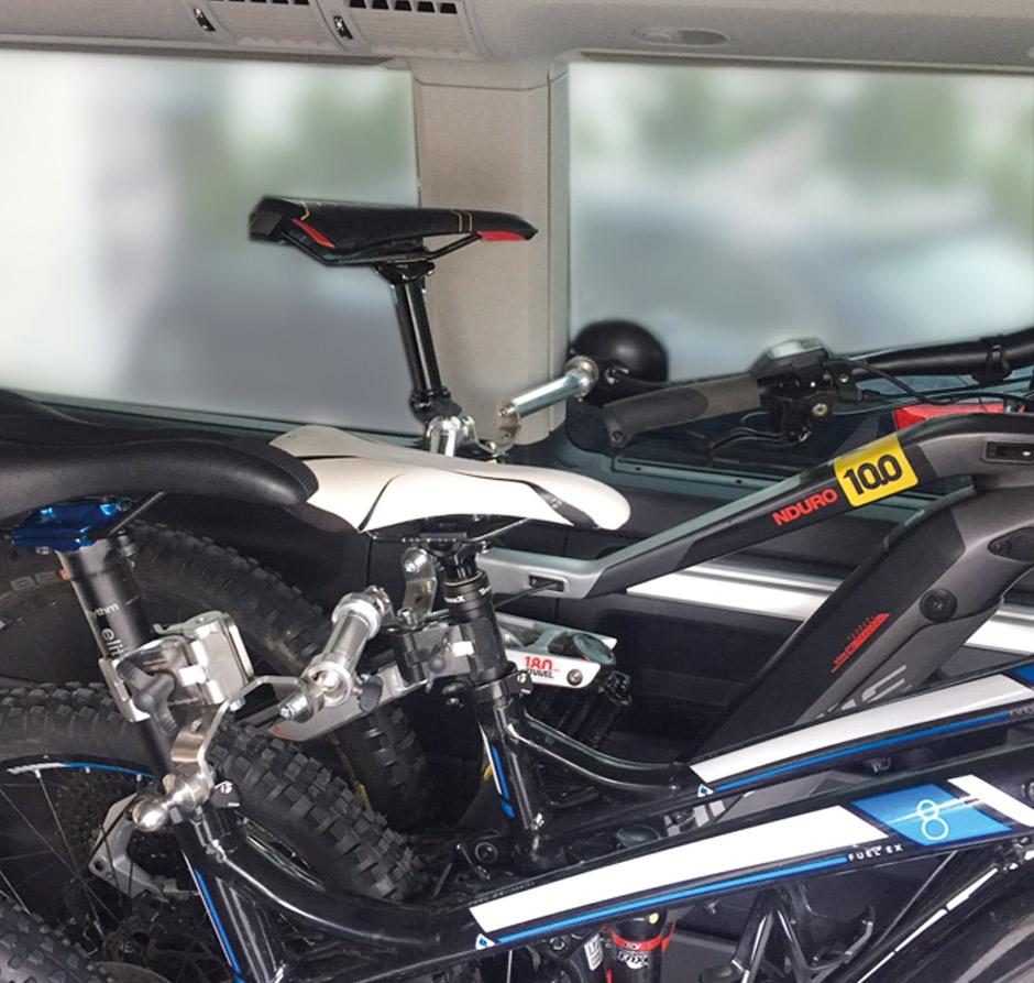 , Bike-Holder: Fahrradträger für die Wohnmobil-Garage