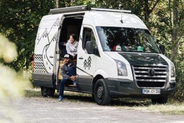 VW Crafter, Road & Board: Cooler Crafter-Camper mit 400.000 km auf dem Tacho