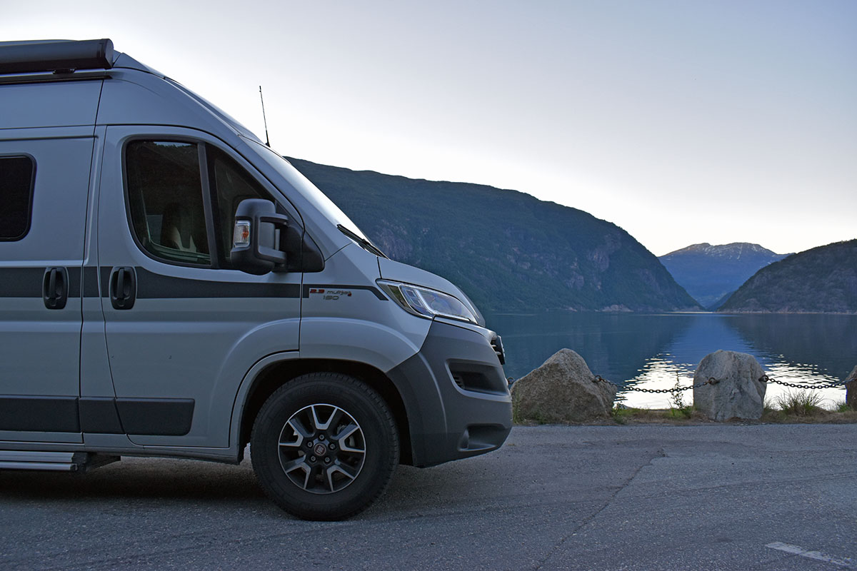 Hymer Grand Canyon Test, Auf Tour durch Norwegen: Hymercar Grand Canyon im Test