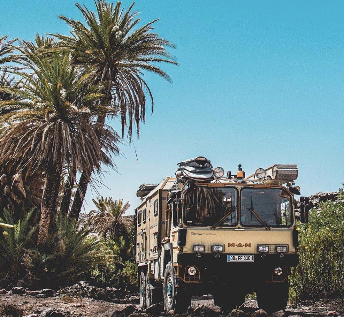 Expeditionsmobil familie aussteigen, Heavy Duty – Familie Frings unterwegs im MAN KAT1-Expeditionsmobil