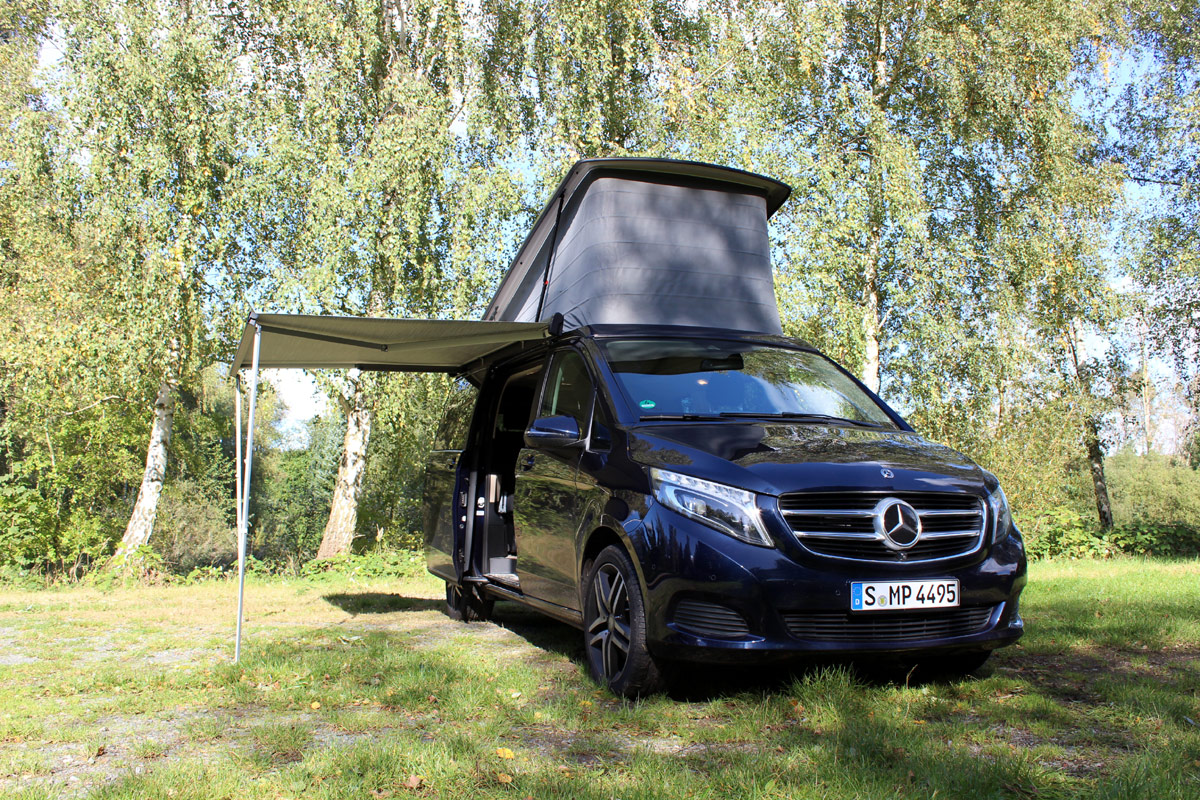 , Mercedes Marco Polo Edition 250 d 4MATIC im Test