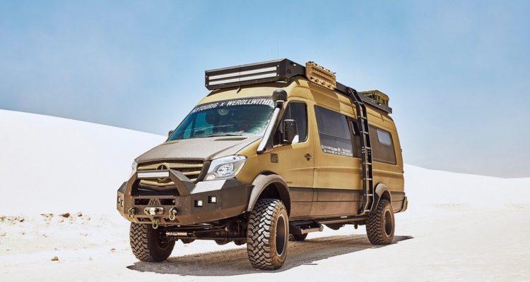 , werollwithit: Mercedes Sprinter als Offroad-Camper