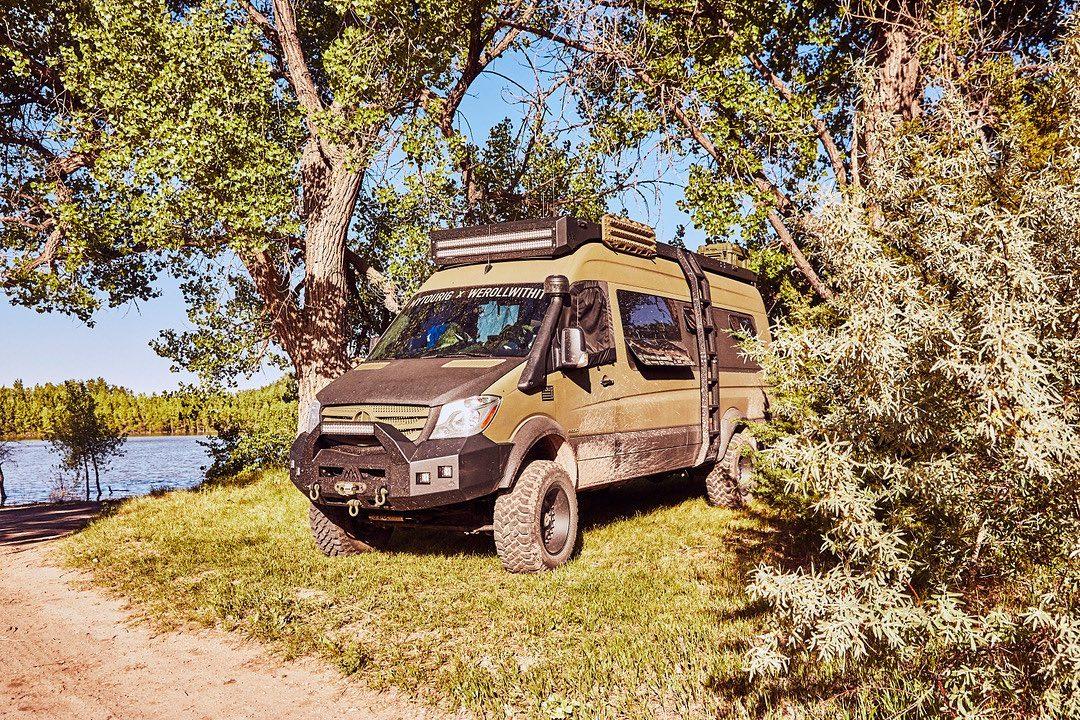 Mercedes Sprinter Offroad-Camper, werollwithit: Mercedes Sprinter als Offroad-Camper