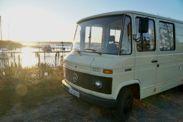 , Oskar the explorer: Vanlife im 1986er Mercedes 407D