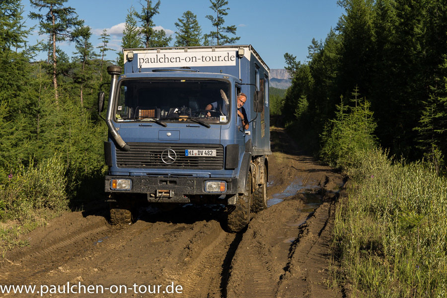 Expeditionsmobil Mercedes 1017 A, Paulchen, das Expeditionsmobil: Unterwegs im Mercedes 1017 A von 1989