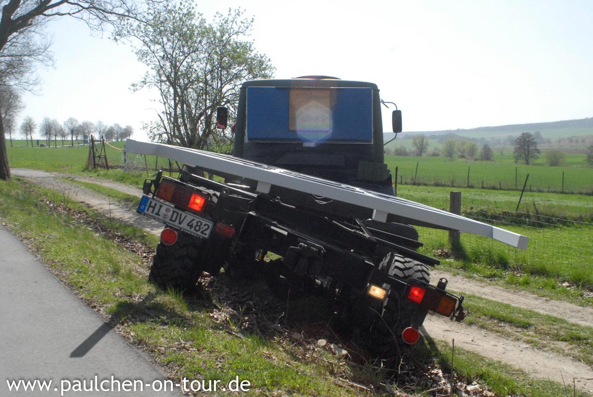 Expeditionsmobil Mercedes 1017 A, Paulchen, das Expeditionsmobil: Unterwegs im Mercedes 1017 A von 1989
