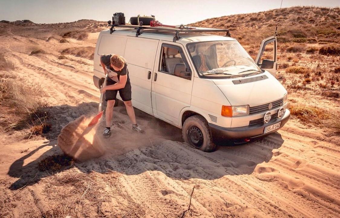 VW T4 Atlas-Gebirg, Auch ohne Allrad möglich: Mit dem Bulli ins Atlas-Gebirge in Marokko