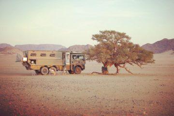 , Mitten drin, statt nur dabei: Zu fünft unterwegs im XL-MAN-Camper