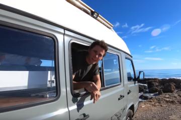 MB 100 Vanlife, Vanlife Roomtoor (Video): Der selbst ausgebaute MB 100 von Marc