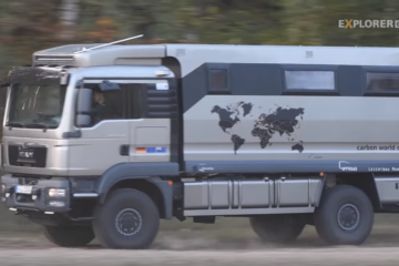 Leichtbau Expeditionsmodell, Video: Carbon World Cruiser – Das Leichtbau-Expeditionsmobil