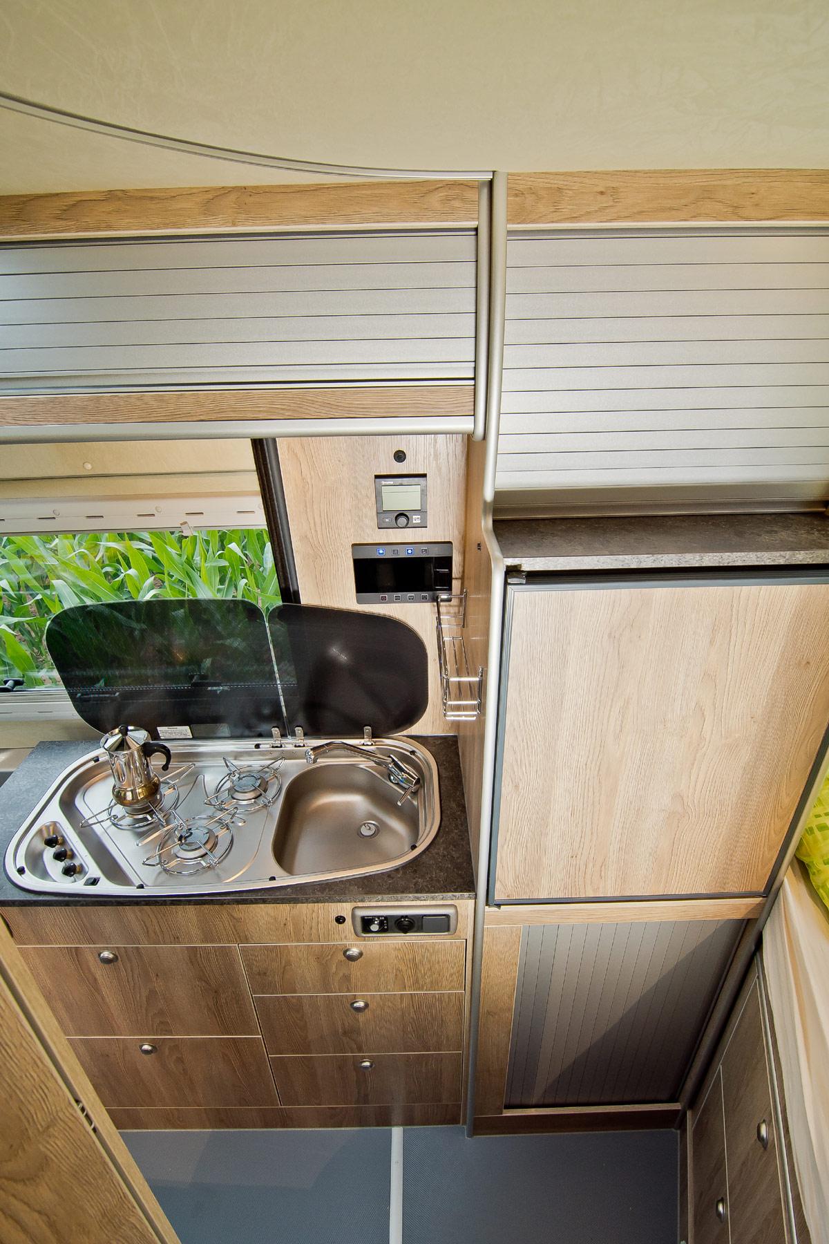 La Strada Regent S, Campingplatz, nein Danke! La Strada Regent S auf Mercedes Sprinter 4×4