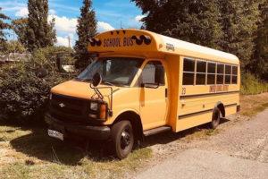 US-Schulbus Wohnbus, US-Schulbus als Hauptwohnsitz: André und sein Skoolie