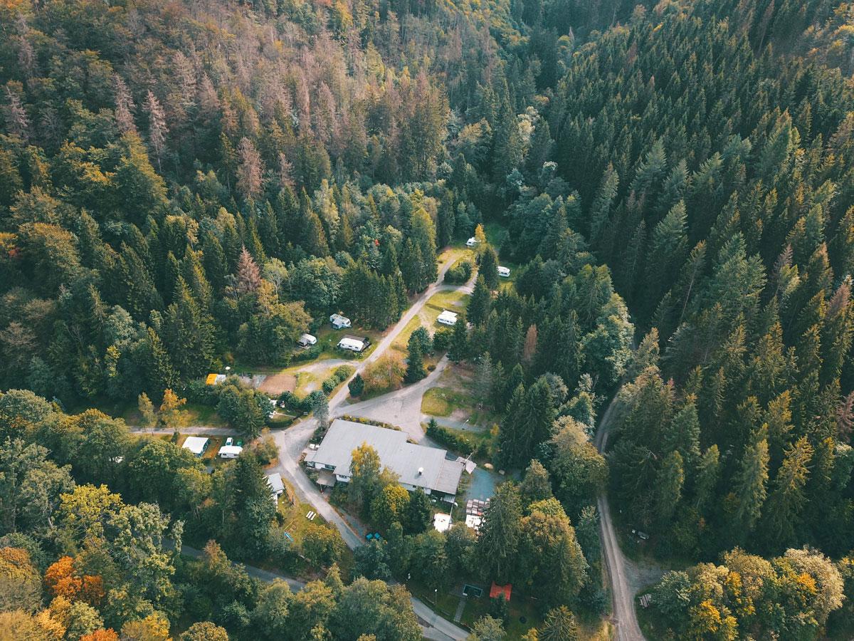 Campingplatz im Harz, Kurzportrait: Campingplatz Im Waldwinkel in 37449 Zorge (Harz)