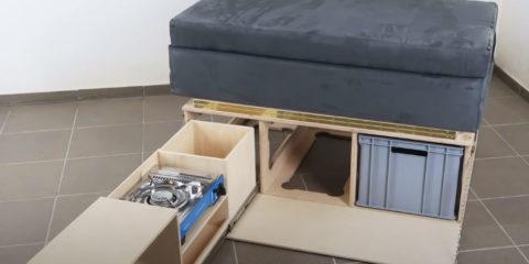 Camping Box selber bauen
