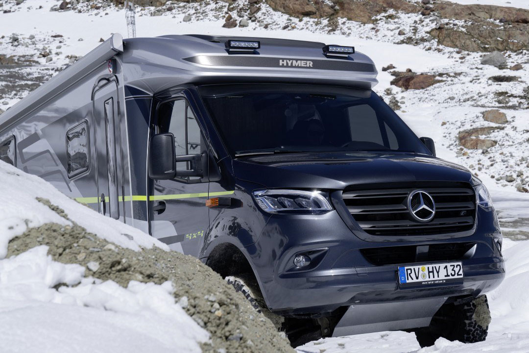 Hymer ML-T 570 CrossOver, Hymer ML-T 570 CrossOver und Grand Canyon S CrossOver