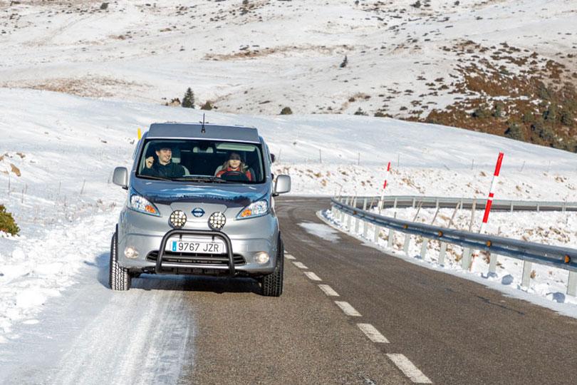 Nissan e-NV200 Winter Camper Concept, Nissan e-NV200 Winter Camper Concept: Seine Zeit wird kommen