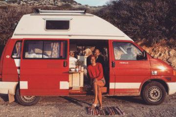 VW T4 Camper Ausbau, Buddies stellen sich vor: Sarah, Finn und ihr 96er VW T4-Syncro-Camper