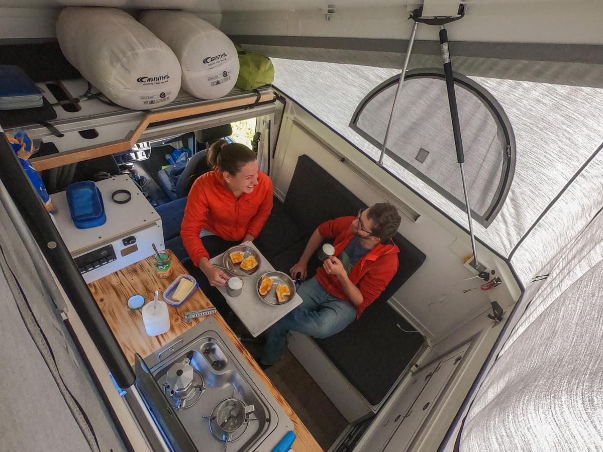 Puch Camper, Buddies stellen sich vor: Birgit, Klemens und ihr Puch-Camper