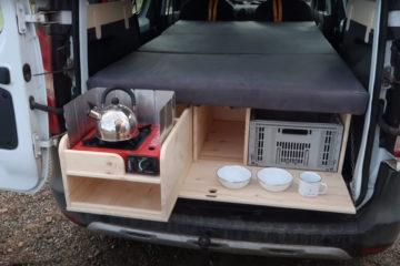 DIY Campingbox für unter 100 Euro, Selbstbau-Video: DIY Campingbox für unter 100 Euro