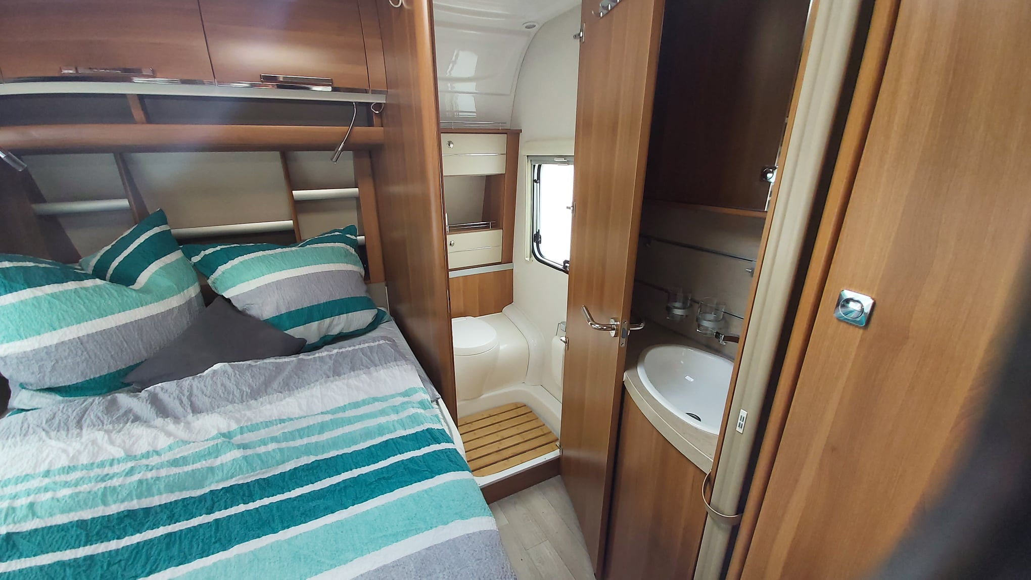 Wohnwagen Fendt Saphir 495 SFB, Wohnwagen Fendt Saphir 495 SFB (Bj. 2017) zu verkaufen