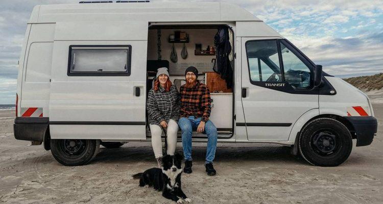 Ford Transit DIY Camper, Buddies stellen sich vor: Nina, Michel und ihr ausgebauter Ford Transit