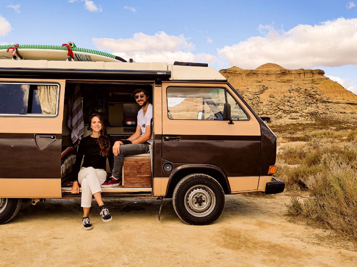 """VW T3 Camper, Buddies stellen sich vor: Yurena, Philipp und ihr VW T3 """"Reinhold"""""""