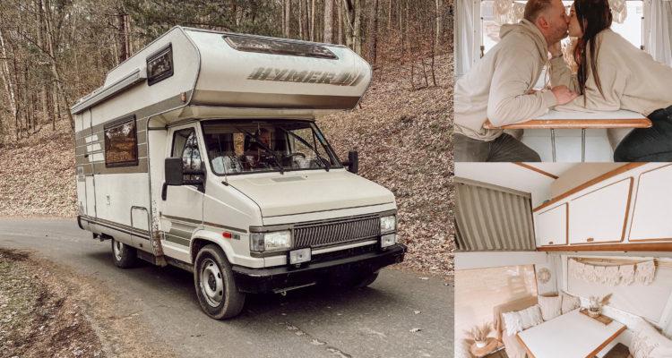 """Hymer Camp 55 Erfahrungen, Buddies stellen sich vor: Viola, Pascal und ihr 1992er Hymer Camp 55 """"Fritzi"""""""