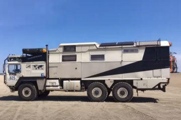 XXL Offroad Camper, XXL-Offroad-Camper: MAN KAT1-Expeditionsmobil wird verkauft